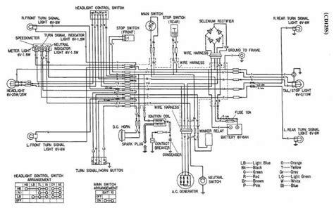Honda Cds Wiring Diagram Vintage Motorbike