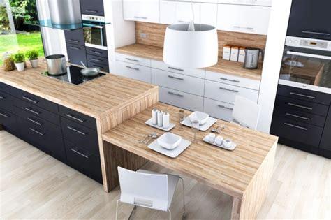 table cuisine ikea bois ikea cuisine plan travail ilot central bois hotte