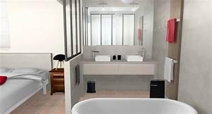 Salle de bain verriere for Salle de bain verriere