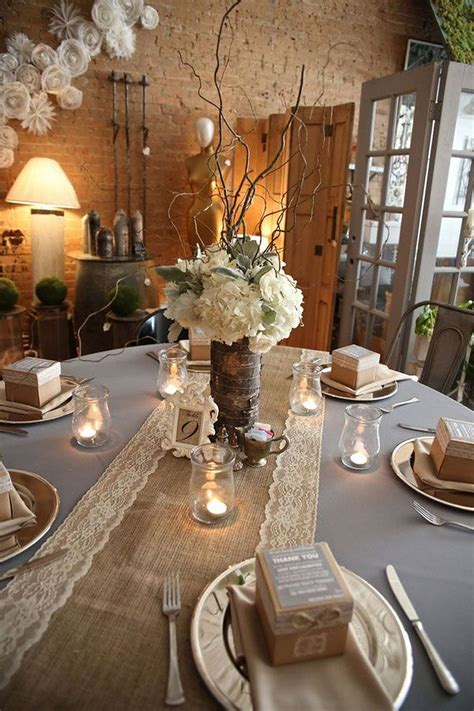 burlap table decorations for rustic wedding 66 wedding