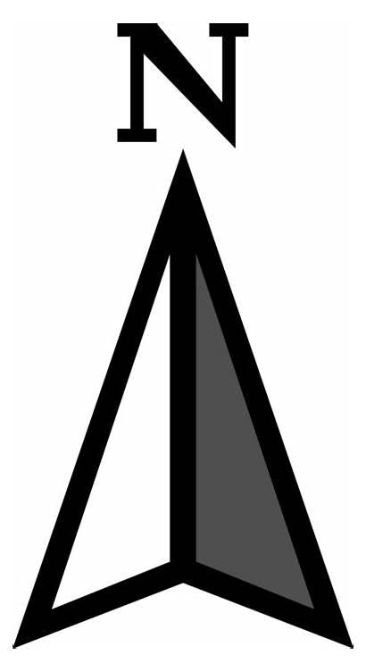 North Direction Symbol Compass Arrow Architecture Transparent