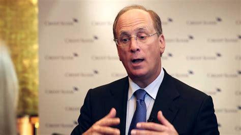 AIC 2013 Interview: Laurence D. Fink, CEO BlackRock ...