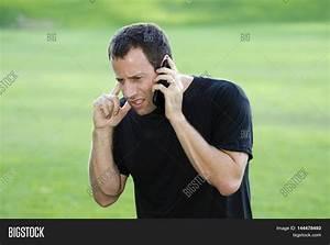 Man Having Hard Time Hearing On His Image & Photo | Bigstock