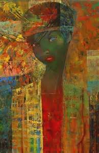 African American Women Art Painting Abstract