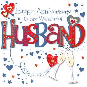 greeting cards words wonderful husband happy anniversary greeting card cards