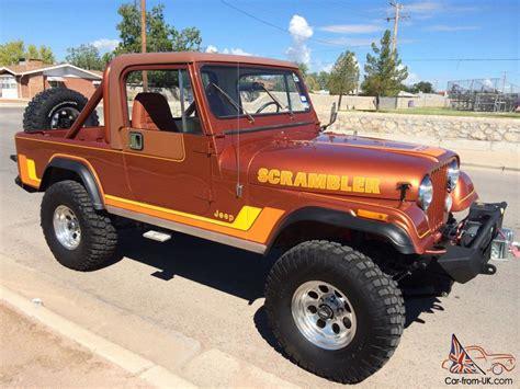 scrambler jeep years cj8 scrambler sbc motor