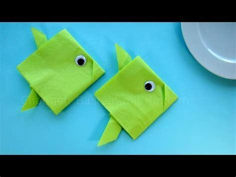 servietten falten fisch servietten falten einfach fisch tischdeko f 252 r taufe kommunion kindergeburtstag