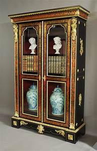 Superb French Napoleon III Boulle Bibliotheque - Antiques ...  French
