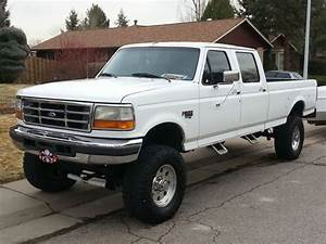 Purchase Used 1996 F350 Crew Cab 4x4 7 3l Power Stroke Diesel In Littleton  Colorado  United States