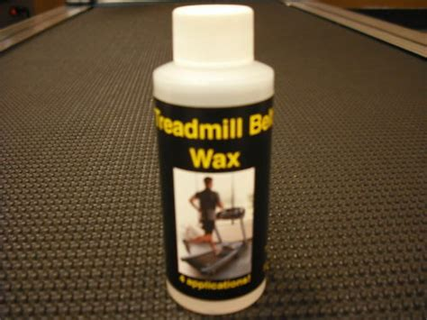 treadmill belt wax lube lubricant lubrication ebay