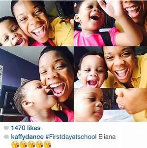 Kaffy Shares Cool Photos From Daughter's First Day At ...