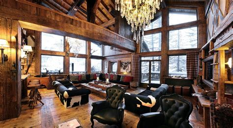 luxury chalet rental with catering and spa in val d isere