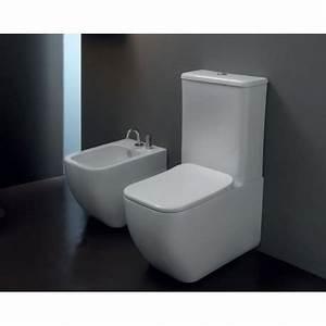 Stand Wc Mit Spülkasten Spülrandlos : sanit r stand wc toilette mit keramik wasser sp lkasten sp lrandlos gsg brio ebay ~ Frokenaadalensverden.com Haus und Dekorationen