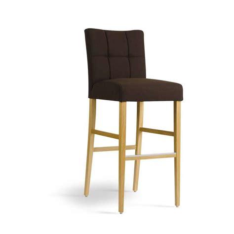 cours de cuisine box tabouret de bar en bois et tissu carré mobitec 4 pieds tables chaises et tabourets