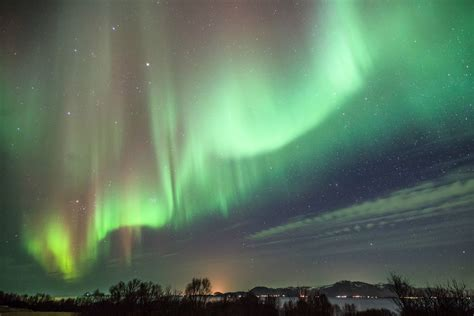 Northern Lights Iceland by Iceland S Capital Switched Its Lights For A