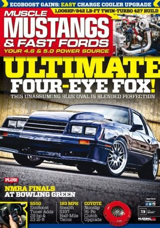 muscle mustangs fast fords magazine subscription