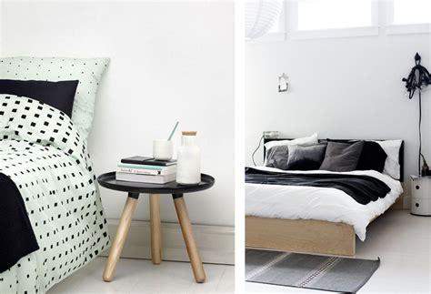 chambre en noir et blanc une chambre en noir et blanc joli place