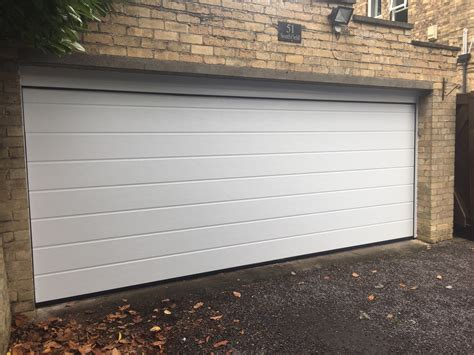 White Garage Doors by White Sectional Garage Door