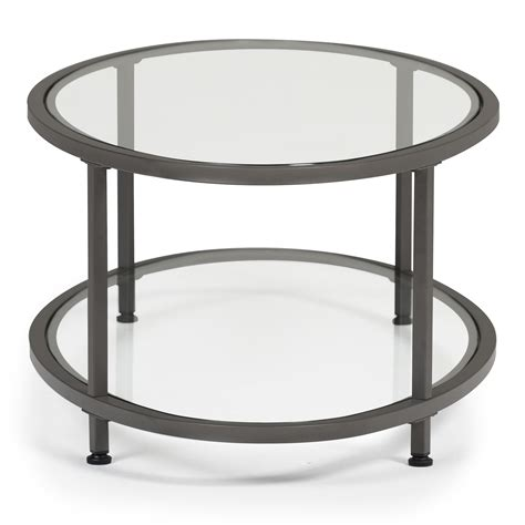 Making your own oval glass coffee table can seem like a chore to put in the basket too hard, but if you leave aside the fancy job routing, curved legs, intricate woodwork and other elements can still make yourself oval center table handsome. Camber Modern Oval Coffee Table (48″ W) in Pewter/Clear Glass - Item # 71014 - Studio Designs