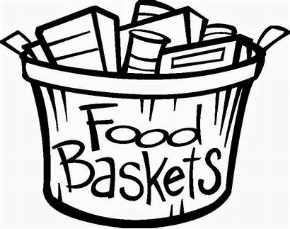 Basket Clipart Clip Baskets Offering Church Thanksgiving