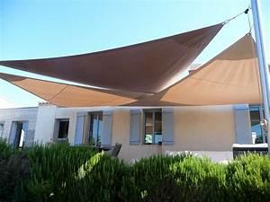 Voile Pour Terrasse : voile d 39 ombrage tendance marine ~ Premium-room.com Idées de Décoration