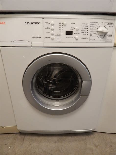 Garantie Aeg Waschmaschine by 2e Wasmachine Arnhem Aeg Lavamat 74640 Met Garantie