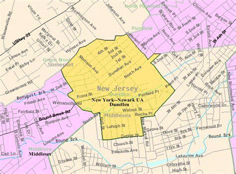 census bureau file census bureau map of dunellen jersey png
