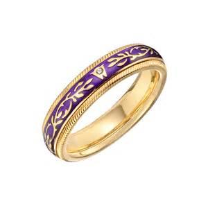 wedding band for men wellendorff quot violet quot ring betteridge