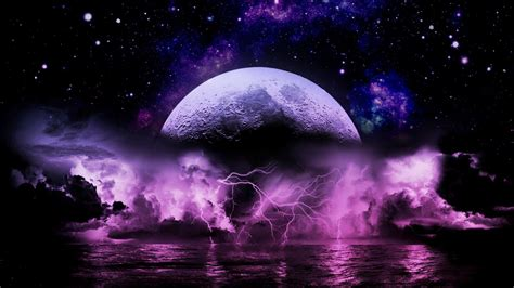 hd cool beautiful water purple lightning wallpapers wallpaper cave
