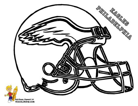 pro football helmet coloring page nfl football