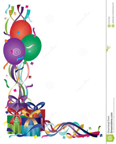 birthday frame clipart    clipartmag