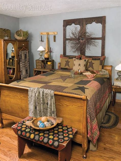 Country Decorating Ideas For Bedrooms, Farmhouse Bedroom