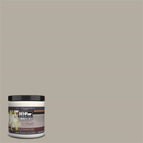 behr premium plus ultra 8 oz ul260 8 perfect taupe matte