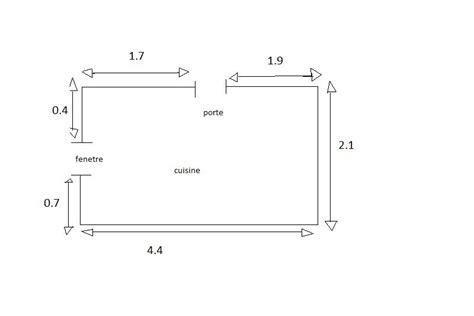 echelle de cuisine échelle d 39 un cuisine exercice de proportionnalité