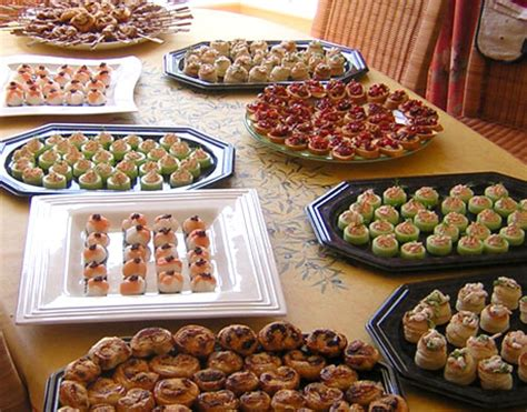 canape buffle buffets and canapes from catering for you