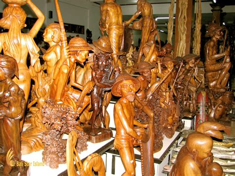 bali wood carving souvenir sources mas village bali