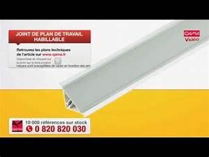 Baguette Finition Plan De Travail : joint pour plan de travail habillable par qama youtube ~ Dailycaller-alerts.com Idées de Décoration