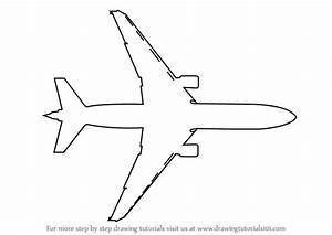 Learn How to Draw an Aeroplane Topview (Airplanes) Step by ...