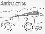 Ambulance Coloring Pages Realistic Printable Vehicle Hospital Template Library Preschool Getdrawings Getcolorings Nearest Carry Patient Currently Important Very Fire Van sketch template