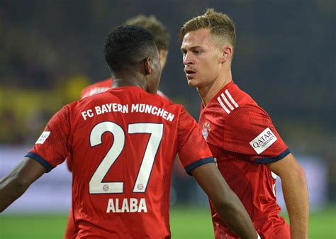 Join the discussion or compare with others! Joshual Kimmich hails David Alaba for his recent performances for Bayern Munich