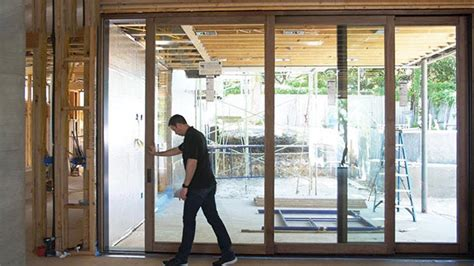 sliding doors  modern home design  decorative