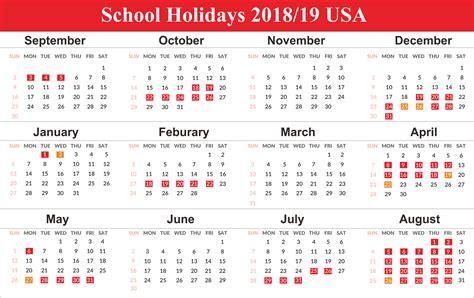 school holidays usa holidays bank school public