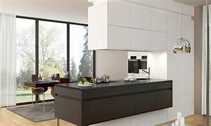 Schwarze Arbeitsplatte Küche : designer k che mit schwarzer arbeitsplatte ~ Sanjose-hotels-ca.com Haus und Dekorationen
