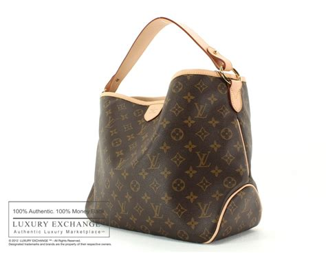 authentic louis vuitton monogram delightful pm bag