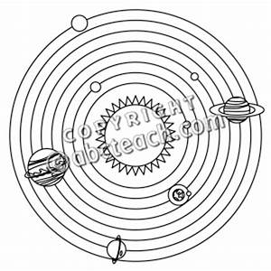 Solar System Clipart Black And White - Pics about space