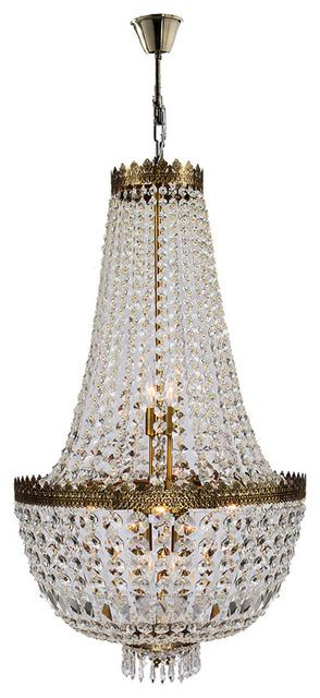 antique basket chandelier empire 8 light antique bronze clear basket