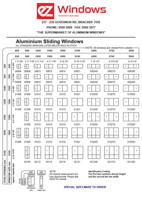 standard aluminium sliding windows ez windows aluminium windows  doors