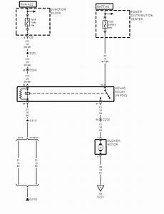 Need Wiring Diagram For The Ac  Heater Blower On A 1999 Dakota