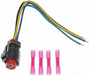 Vacuum Pump Pigtail Wiring Harness Connector Fits 1994