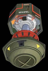 This is a Self Replicating mine, in its service configuration.